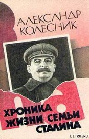 Книга Хроника жизни семьи Сталина - Автор Колесник Александр Николаевич