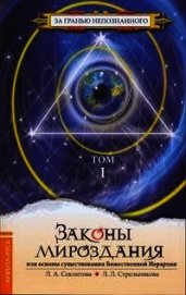 Законы Мироздания или основы существования Божественной Иерархии. Том 1