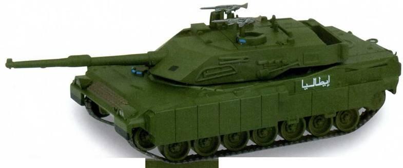 Боевые машины мира, 2014 № 15. Основной боевой танк С1 «Ариете» - pic_1.jpg