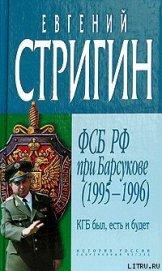 КГБ был, есть и будет. ФСБ РФ при Барсукове (1995-1996) - Стригин Евгений Михайлович