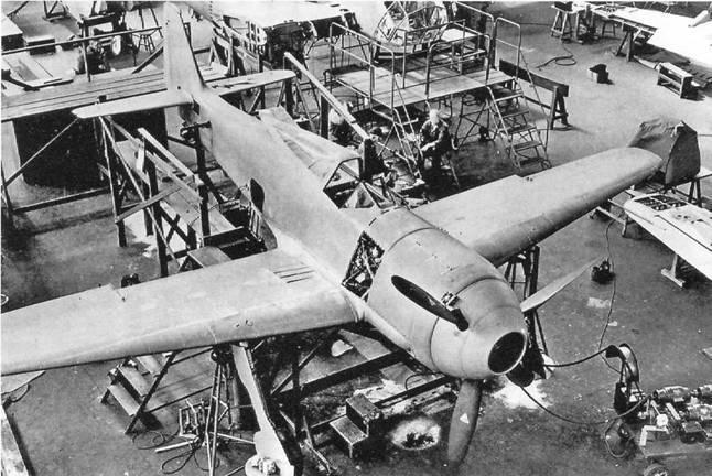 Фокке-Вульф Fw 190, 1936-1945 - pic_1.jpg