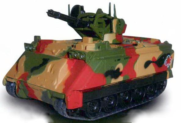 Боевые машины мира, 2015 № 33 Зенитная самоходная установкам M163A1 «Вулкан» - pic_1.jpg