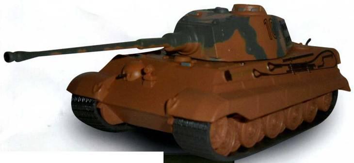 Боевые машины мира, 2014 № 23 Тяжелый танк Pz. KpfwVI Ausf.B «Тигр II» - pic_1.jpg
