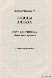 Воины аллаха. Удар скорпиона - Черкасов Дмитрий